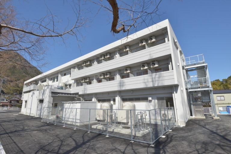 周防大島高校寄宿舎新築工事