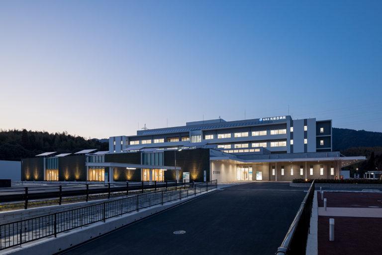 光市総合病院 南面夜景